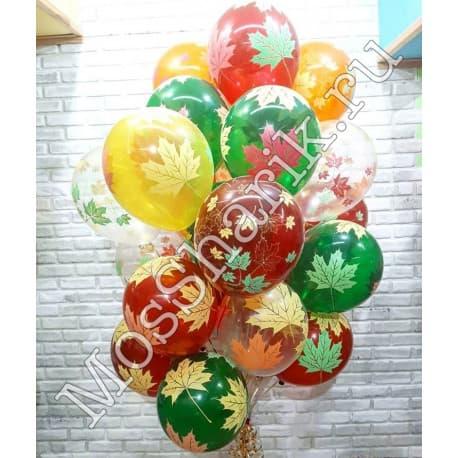 """Воздушные шарики: """"Кленовые листья"""""""