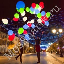 Светящиеся шары (разноцветные)