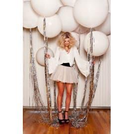Большие воздушные шары для фотосессии (белые)