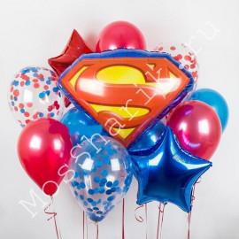 """Воздушные шары """"Супермен"""""""