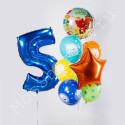 Воздушные шары Мимимишки на пять лет