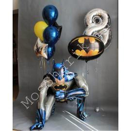 """Шары на 8 лет """"Бэтмен"""""""