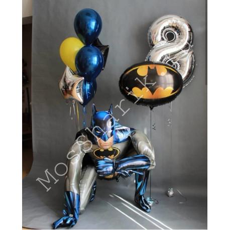 """Шары """"Бэтмен"""" на 8 лет"""