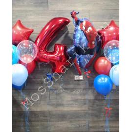 """""""Человек паук"""" шар фольга на 4 года"""
