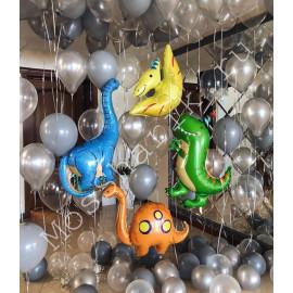 Воздушные шары динозавры