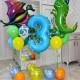Шары в виде динозавров на 3 года
