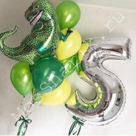 Шар Тираннозавр на пять лет