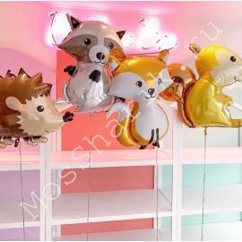 Воздушные шары лесные животные