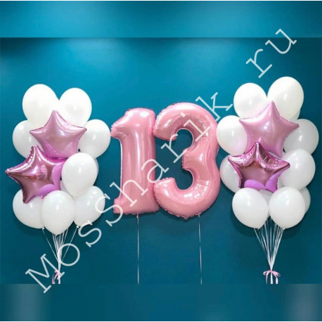 Воздушные шары на 13 лет