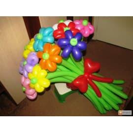 Букет из шаров 15 цветочков