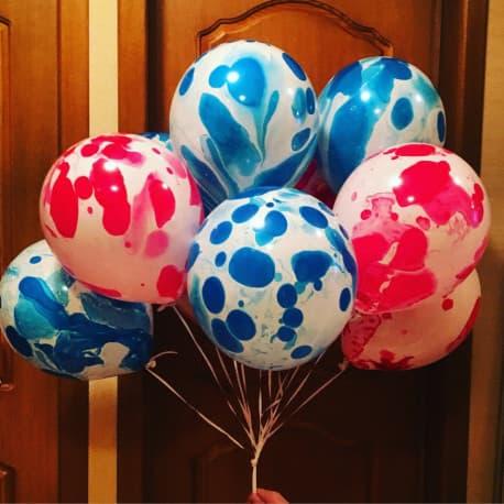 Воздушные шарики агаты