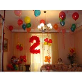 Оформление комнаты на день рождения ребёнка
