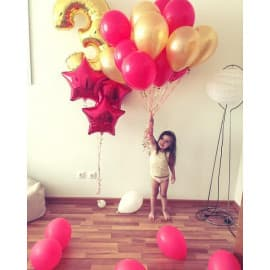 Облако шариков на 3 года на день рождения