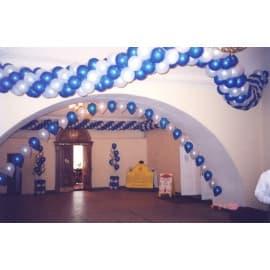Гирлянда из шаров (плетёная)