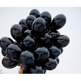 Шары черного цвета