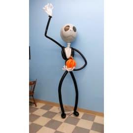 """Фигура из шаров """"Джек Скеллингтон"""""""