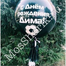 Большой воздушный шарик с вашей надписью