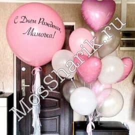 Композиция из шариков на день рождения мамы