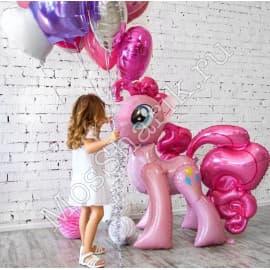 """Ходячий шарик """"Пинки Пай"""" (Моя маленькая пони)"""