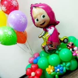 """Фигура из воздушных шариков """"Маша"""""""
