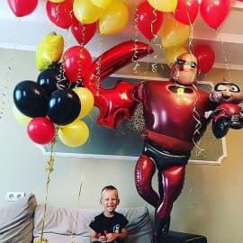 """Комплект воздушных шаров """"Супер папа"""""""