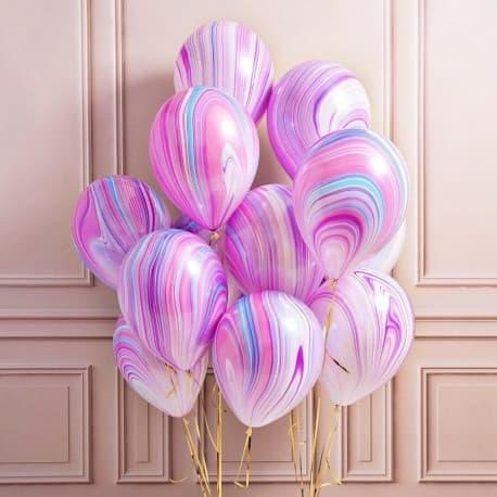 Воздушные шарики: Агаты. Fashion (фэшн)