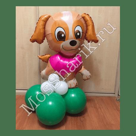 """Воздушный шарик: """"Скай"""" на стойке (Щенячий патруль)"""