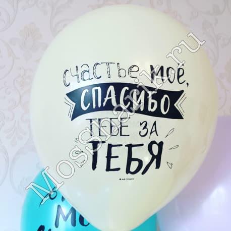 """Воздушные шарики: """"Ты моё счастье"""""""
