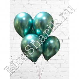 Воздушные шарики ХРОМ (зеленые)
