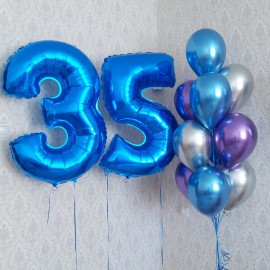 Шары на 35 лет