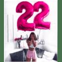 Шары с цифрами на день рождения